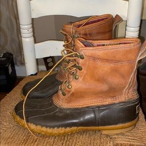 L L Bean thinsulate winter snow boots sz 9 brown